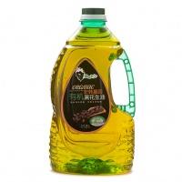 绿色芳山有机黑花生油2L