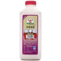 和润草莓大果粒酸牛奶910g