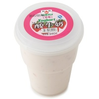 和润草莓大果粒酸牛奶340g