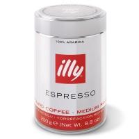 意大利知名品牌 illy中度烘焙浓缩咖啡粉 250g
