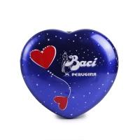 意大利芭喜蓝色浪漫心型铁盒装榛仁巧克力129g