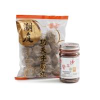 潮州牛筋丸+沙茶酱组合
