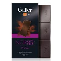 比利时伽列排块黑巧克力85%80g