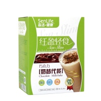森活健康 纤盈轻食-巧克力代餐奶昔(固体饮料)210g