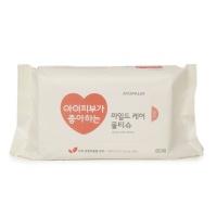 韩国爱多康洁肤清润护理 湿巾80片装