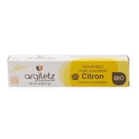 法国安适蕾矿物泥柠檬精油亮白健齿牙膏75ml