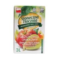 波兰维萨·维娜苹果梨混合果汁3L