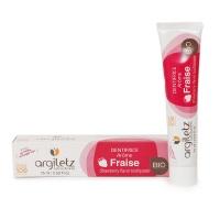 法国安适蕾矿物泥儿童草莓清香护齿牙膏75ml