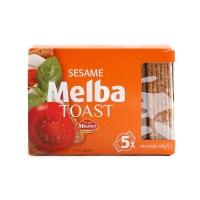 范德米林芝麻口味梅尔巴烤面包片100g