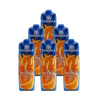 泰国芭提娅瓦伦西亚橙子果汁1L*6