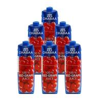 泰国芭提娅红葡萄果汁1L*6