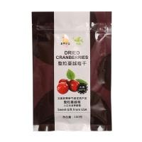 自然果实整粒蔓越莓干100g