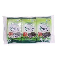 韩国农协绿茶海苔12g