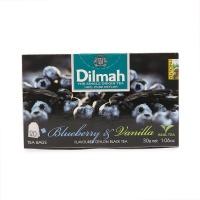 斯里兰卡迪尔玛蓝莓香草味红茶1.5g*20