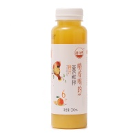 汲自然100%鲜榨橙汁300ml