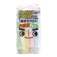 日本LEC清洁抹布27*27cm 5只装