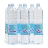 意大利盛安娜天然矿泉水1.5L*6瓶