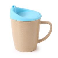 壳氏唯儿童有柄杯含硅胶盖蓝色275ml