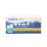 英国进口奈卡Natracare天然棉卫生棉条 带助导量多型 16支