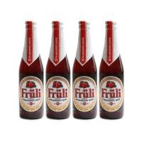 比利时芙力草莓啤酒330ml*4