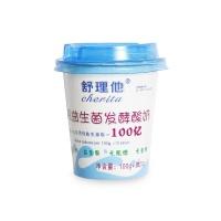 舒理他纯益生菌发酵酸奶120g
