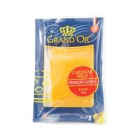 荷兰格兰特淡味切达干酪片160g
