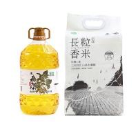 大地厨房长粒香米+大地厨房大豆油