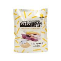 自然果实色色薯条淡盐味80g