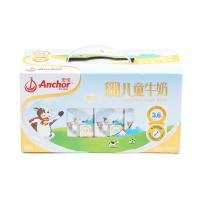 新西兰安佳进口儿童牛奶金装礼盒190ml*12