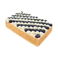 Mcake蓝莓轻乳拿破仑蛋糕2磅