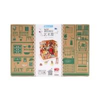 若态 儿童立体木质拼图拼装模型手工制作小屋-山姆书店102