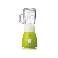 日本Recolte丽克特Solen果汁机 绿色 Solo Blender Solen