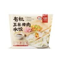 九洲丰园有机玉米猪肉水饺300g