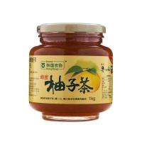 韩国农协蜂蜜柚子茶1kg