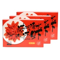 深海食堂定制麻辣小龙虾(20-30g/只)600g*3盒