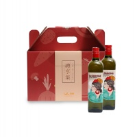 西班牙直采特级初榨橄榄油礼盒750ML*2